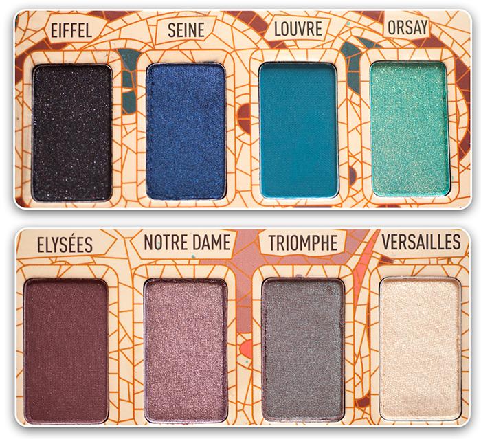 Палетка, тени Sigma Paris Makeup Palette. Отзывы. Фото. Reviews, Photos, Swatches