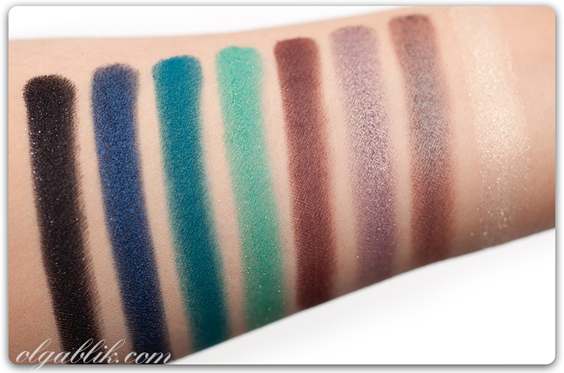 Палетка, тени Sigma Paris Makeup Palette. Отзывы. Фото. Reviews, Photos, Swatches