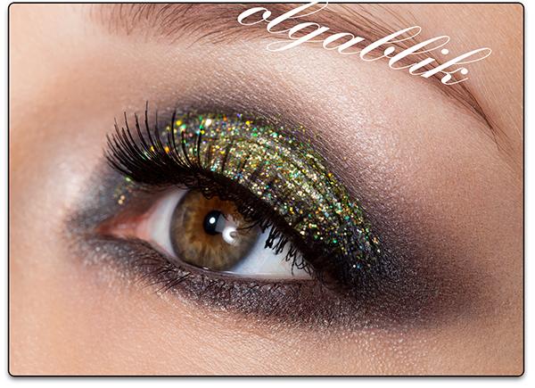 Как использовать блестки в макияже глаз