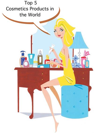 Top 5  Cosmetics Products in the World, Лучшие средства по уходу за кожей, SUQQU, Shu Uemura, Dermablend, Charlotte's, Embryolisse