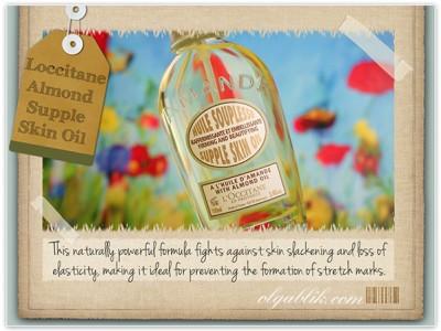 Смягчающее масло для тела «Миндаль» Loccitane Almond Firming And Softening Supple Skin Oil