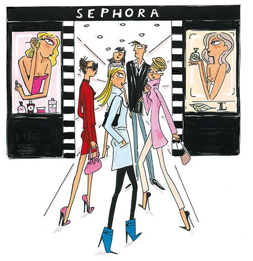 Косметические магазины в Париже - Сефора: что купить