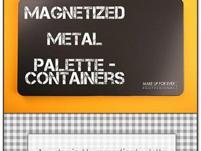 Магнитная палетка для теней Make Up Forever Empty Magnetic Palette
