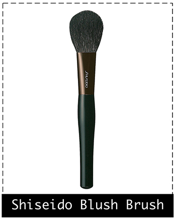 Shiseido Blush Brush, кисть для нанесения румян, Шисейдо, Отзывы, Фото