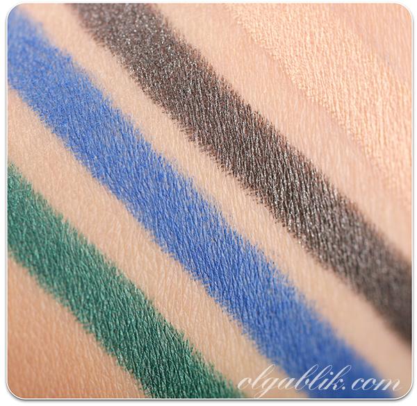 Kiko Long Lasting Stick Eyeshadows, Стойкие карандаши для глаз, Отзывы, Фото, Review, Photos, Swatches