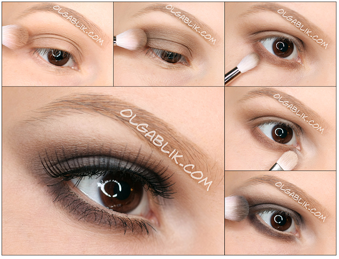 Too Faced Natural Eye Shadow Palette Looks, Smoky eyes для карих глаз. Фото-урок. Пошагово, Смоки айс
