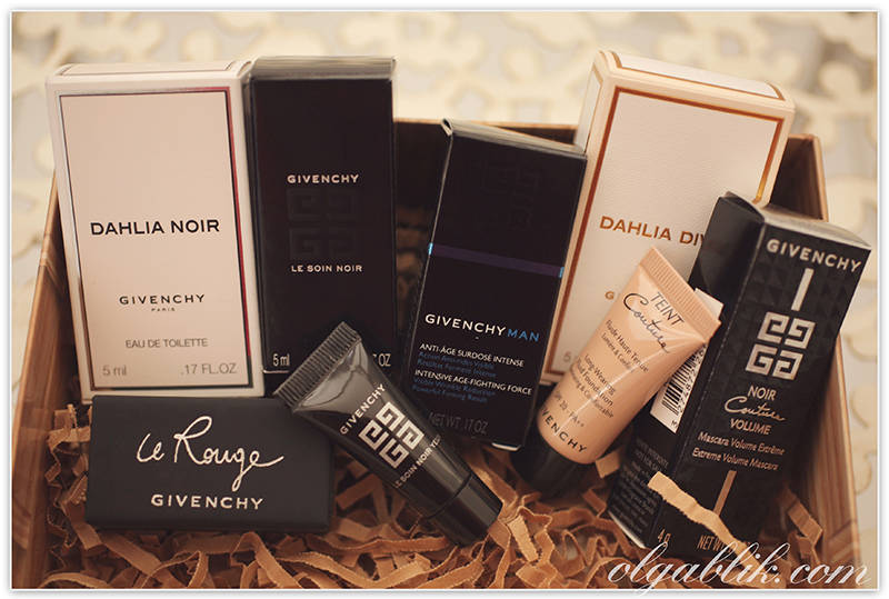 Allure Sample Society by GlamBox Givenchy