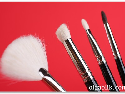 Hakuhodo: Eye Shadow Brushes & Fan Brush