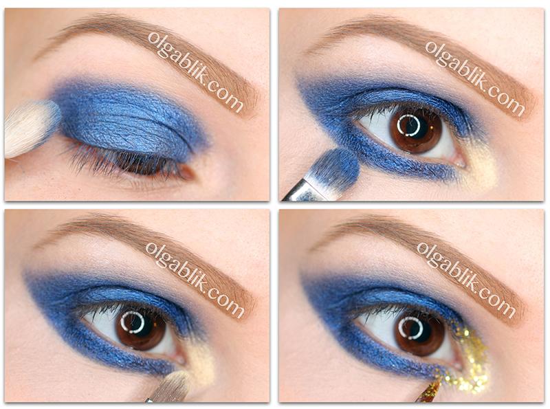 Lit Cosmetics Glitter Pigment Liberace S4, Makeup Tutorial, How to apple, Новогодний макияж, Праздничный, Урок