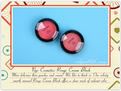 Кремовые румяна: Nyx Cosmetics Rouge Cream Blush