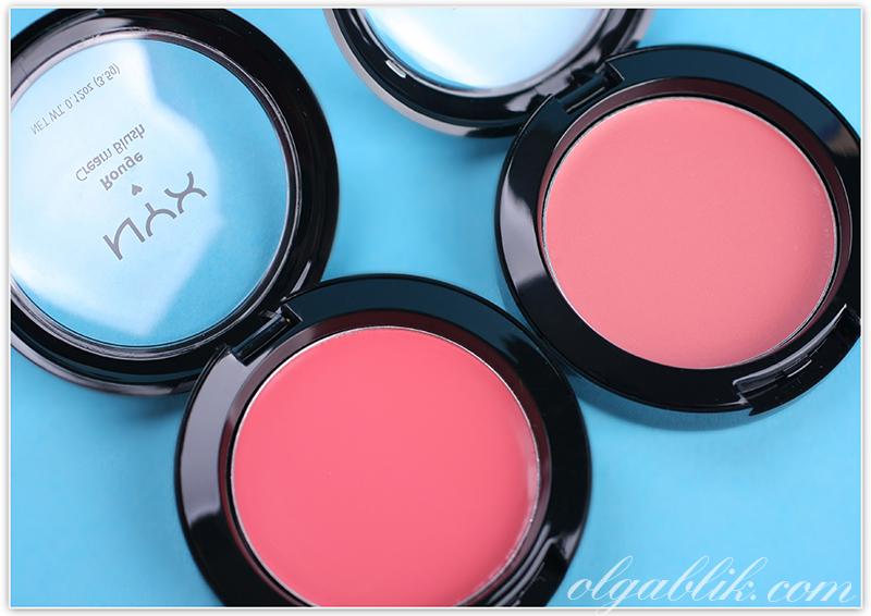 Кремовые румяна Nyx Rouge Cream Blush