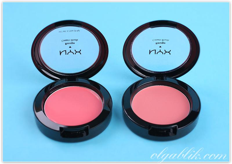 Nyx Cosmetics Rouge Cream Blush, Кремовые румяна, Отзывы, Фото, Review, Photos, Swatches, Нюкс
