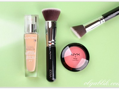 Кисти: Zoeva Buffer Brush 104 & Zoeva Defined Buffer Brush 103