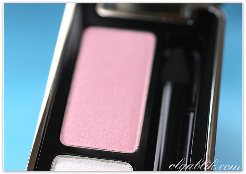Guerlain Ecrin 2 Couleurs Eyeshadow 11 Cygne Blanc, Reviews, Photos, Swatches, Отзывы, Фото, Герлен, Тени, Петрушка, Румяна