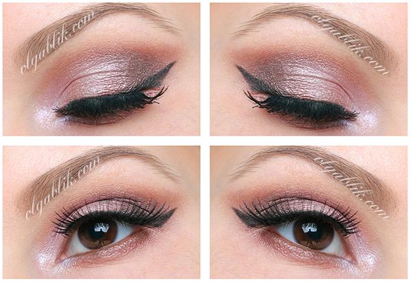 Makeup Look, Дневной макияж для карих и голубых глаз. Фото урок. Sleek Makeup Sunset i-Divine Palette