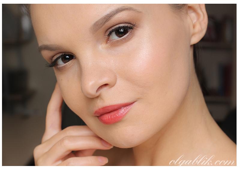 Makeup Look, Дневной макияж лица, глаз и губ. My Everyday Makeup Routine. Макияж для голубых, зеленых и карих глаз. Фото.