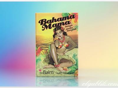 Бронзер: theBalm Bahama Mama — Bronzer Shadow & Contour Powder.