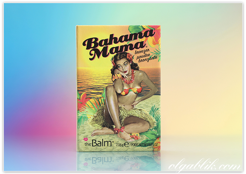 theBalm Bahama Mama Bronzer Shadow Contour Powder, Бронзер, Отзывы, Фото, Свотчи, Review, Photos, Swatches