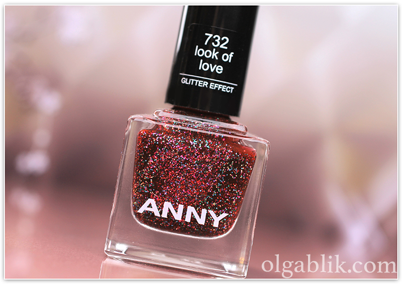 ANNY Glittery New Yea 732 look of love, лак для ногтей, отзывы, фото