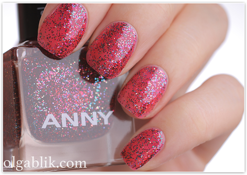 ANNY Glittery New Yea 732 look of love3, лак для ногтей, отзывы, фото