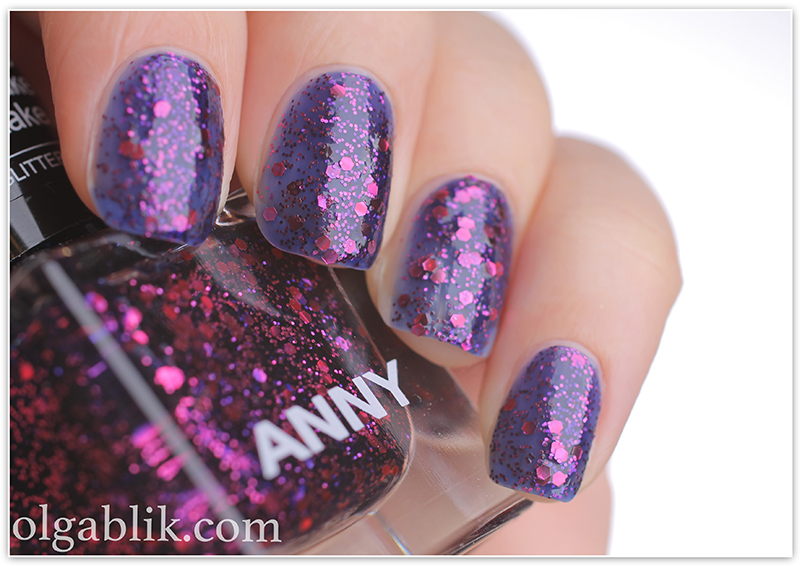 ANNY Glittery New Yea 738 shake it take it, лак для ногтей, отзывы, фото
