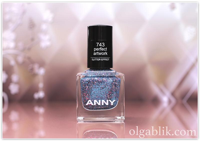 ANNY Glittery New Yea 745 present for you, лак для ногтей, отзывы, фото