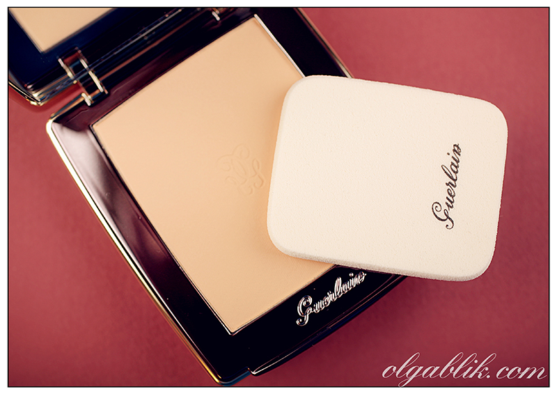 Guerlain Parure Compact Foundation with Crystal Pearls, Пудра для лица, Герлен, Отзыв, Фото, Review, Photos