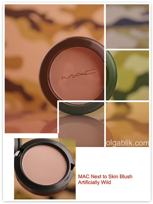 MAC Next to Skin Powder Blush, MAC Artificially Wild Collection for Fall 2014, Румяна для скульптурирования лица, Отзывы, Фото, Review, Photos, Swatches