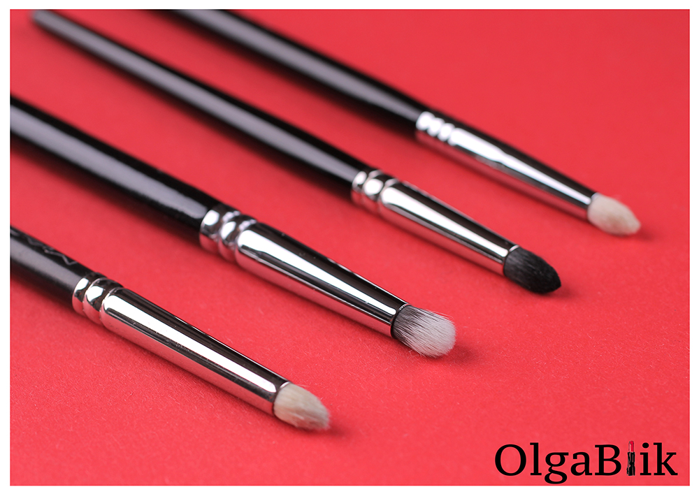 pencil brush reviews photos, Кисти для растушевки теней, MAC, Hakuhodo, Zoeva, Sigma, Фото, Отзывы