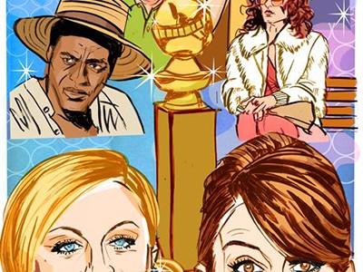 Golden Globe Awards: Лучший макияж звезд