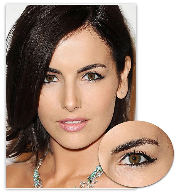 Makeup for Hooded Eyes, Макияж для нависшего века, как рисовать стрелки, фото