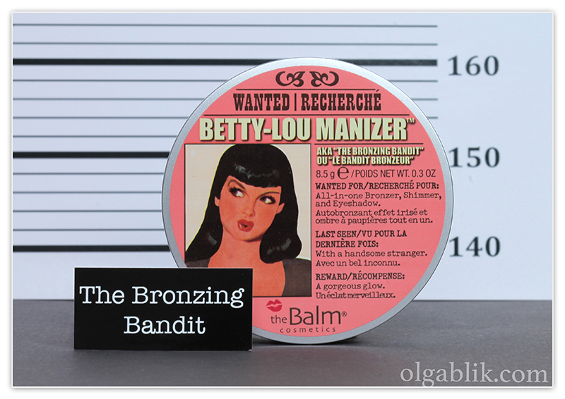 theBalm Betty-Lou Manizer Bronzing Highlighter Reviews, Photos, Swatches, Отзывы, Фото