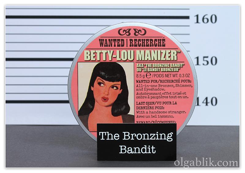 theBalm Betty-Lou Manizer Bronzing Highlighter Reviews, Photos, Swatches, Отзывы, Фото