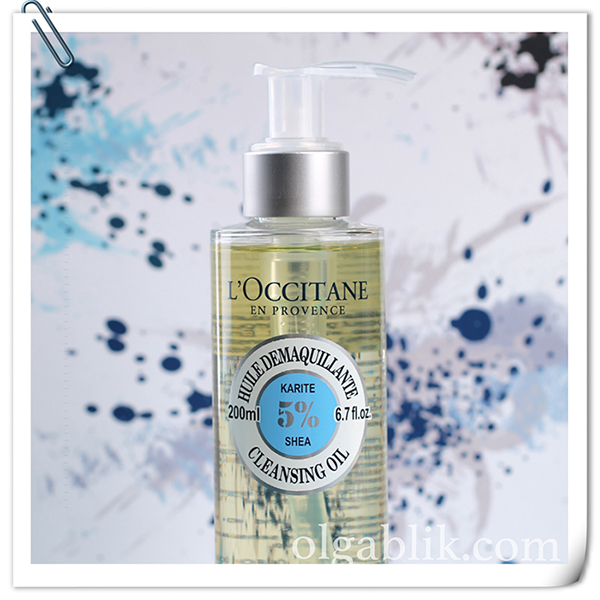 Очищающее масло для умывания Каритэ L'occitane Shea Cleansing Oil