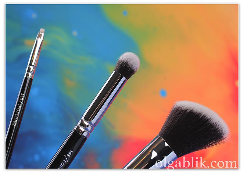 ZOEVA Professional Makeup Brushes, кисти для макияжа, Зоева, Отзывы, Фото