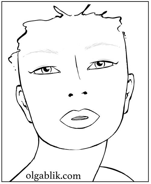 winged-eyeliner-for-hooded-eyes, как рисовать стрелки, нависшее веко, макияж