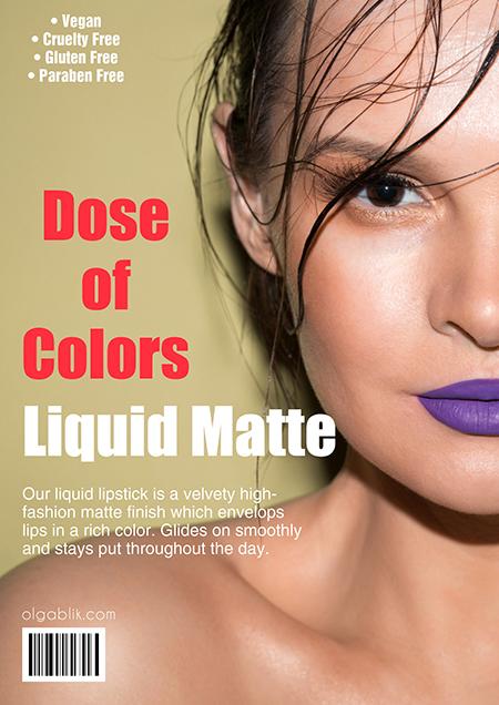 Dose of Colors Liquid Matte Lipstick