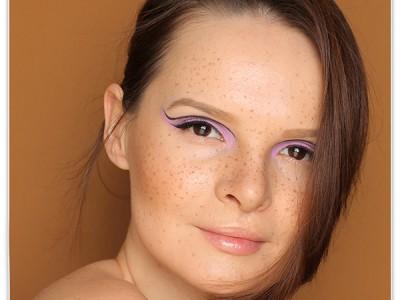 Makeup Look: Макияж для лица с веснушками