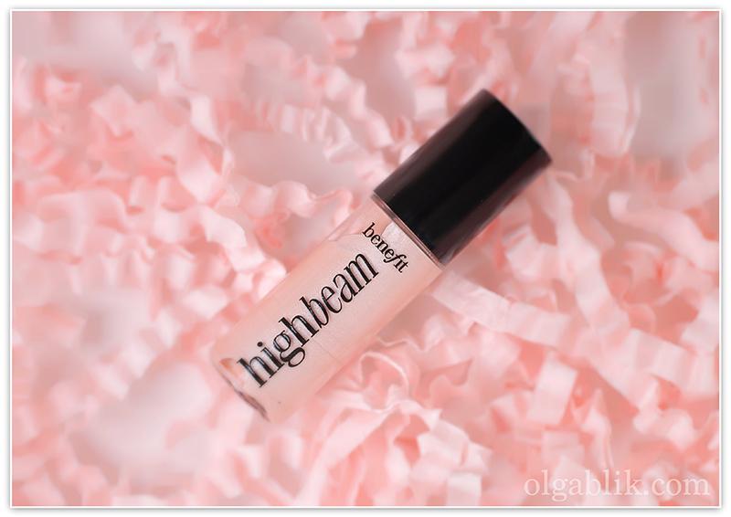 Glambox Benefit Cosmetics High Beam, Хайлайтер, Отзывы, Фото, Бенефит