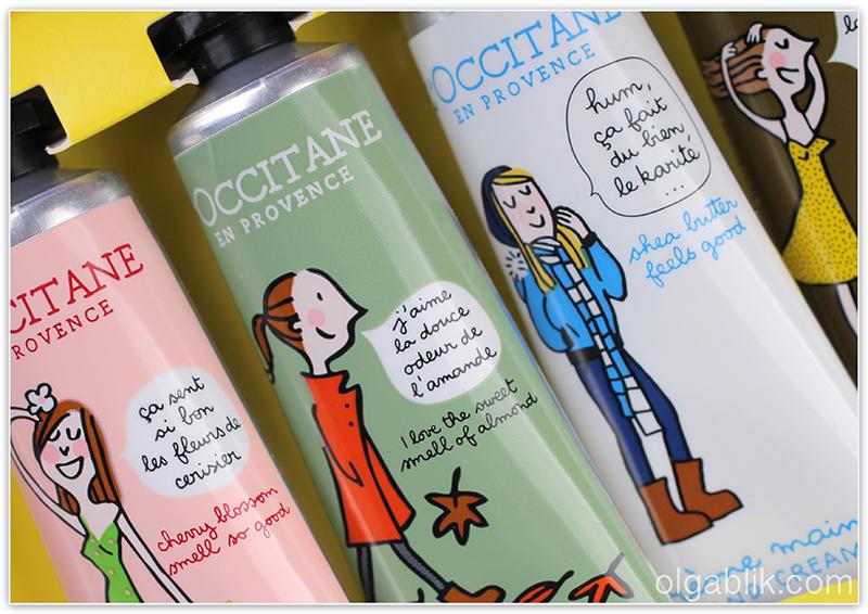 Набор кремов для рук L'occitane