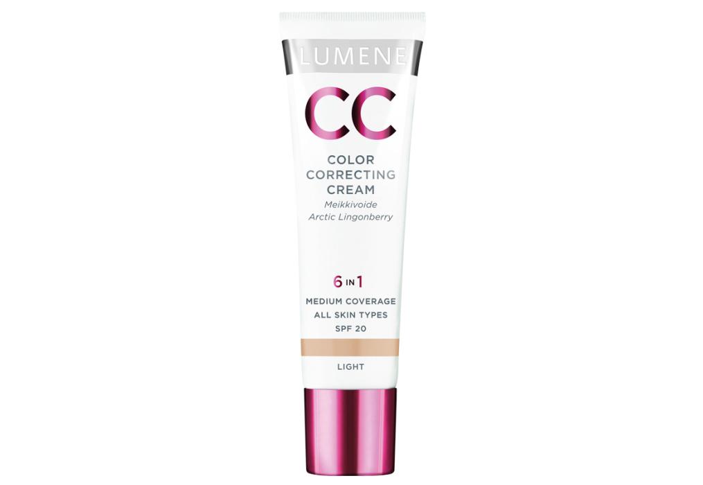 CC Cream Lumene CC Color Correcting, тональный крем, СС-крем, Отзывы, Фото