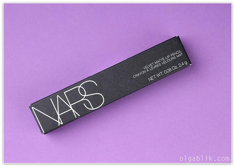 Помада - карандаш NARS Velvet Matte Lip Pencil - отзывы и фото