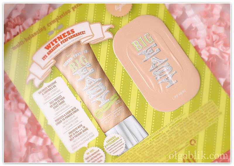 Glambox Benefit Cosmetics Instant Comeback Big Easy, тональный крем, ББ , отзывы, фото