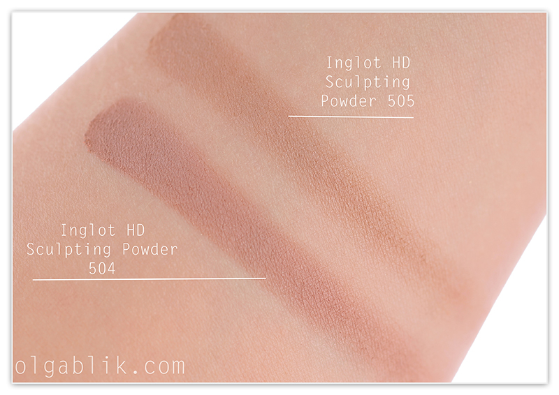 Пудра Inglot HD Sculpting Powder 504