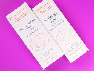 Уход за сухой кожей лица летом: Avene