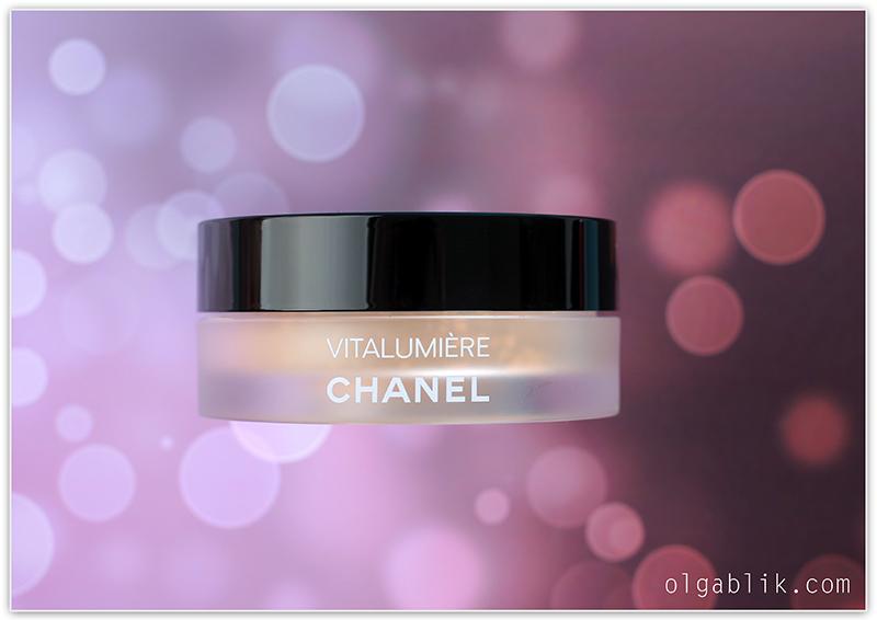 Рассыпчатая пудра Chanel Vitalumiere Loose Powder Foundation
