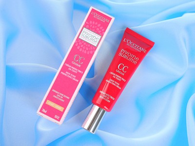 L'occitane Pivoine Sublime CC Skin Tone Perfecting Cream