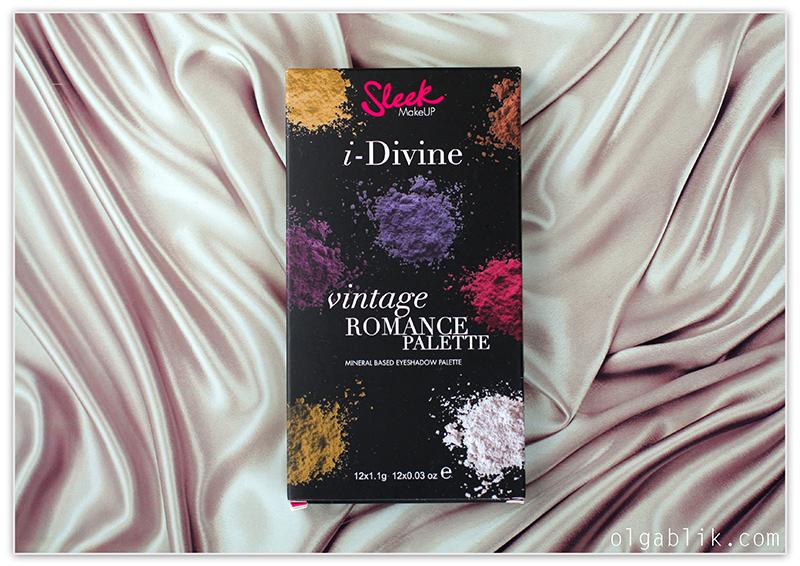 Палетка теней Sleek I-Divine Vintage Romance Palette