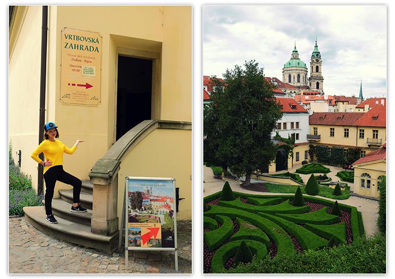 Vrtbovska zahrada Praha, Парки и сады Праги, Вртбовский сад, Дворец, Пражские сады