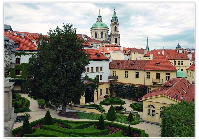 Вртбовский сад в Праге